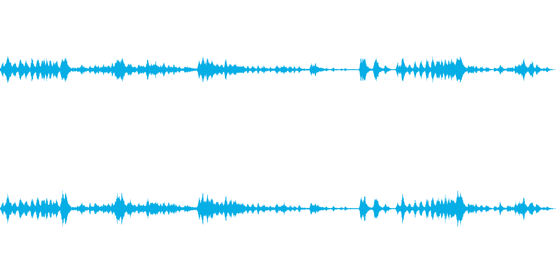 怪物がひしめく洞窟(恐ろしい声が響く)の再生済みの波形