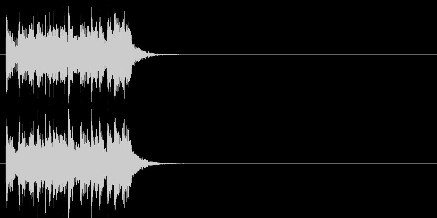 テーマ クイズ 場面転換 緊張 躍動の未再生の波形