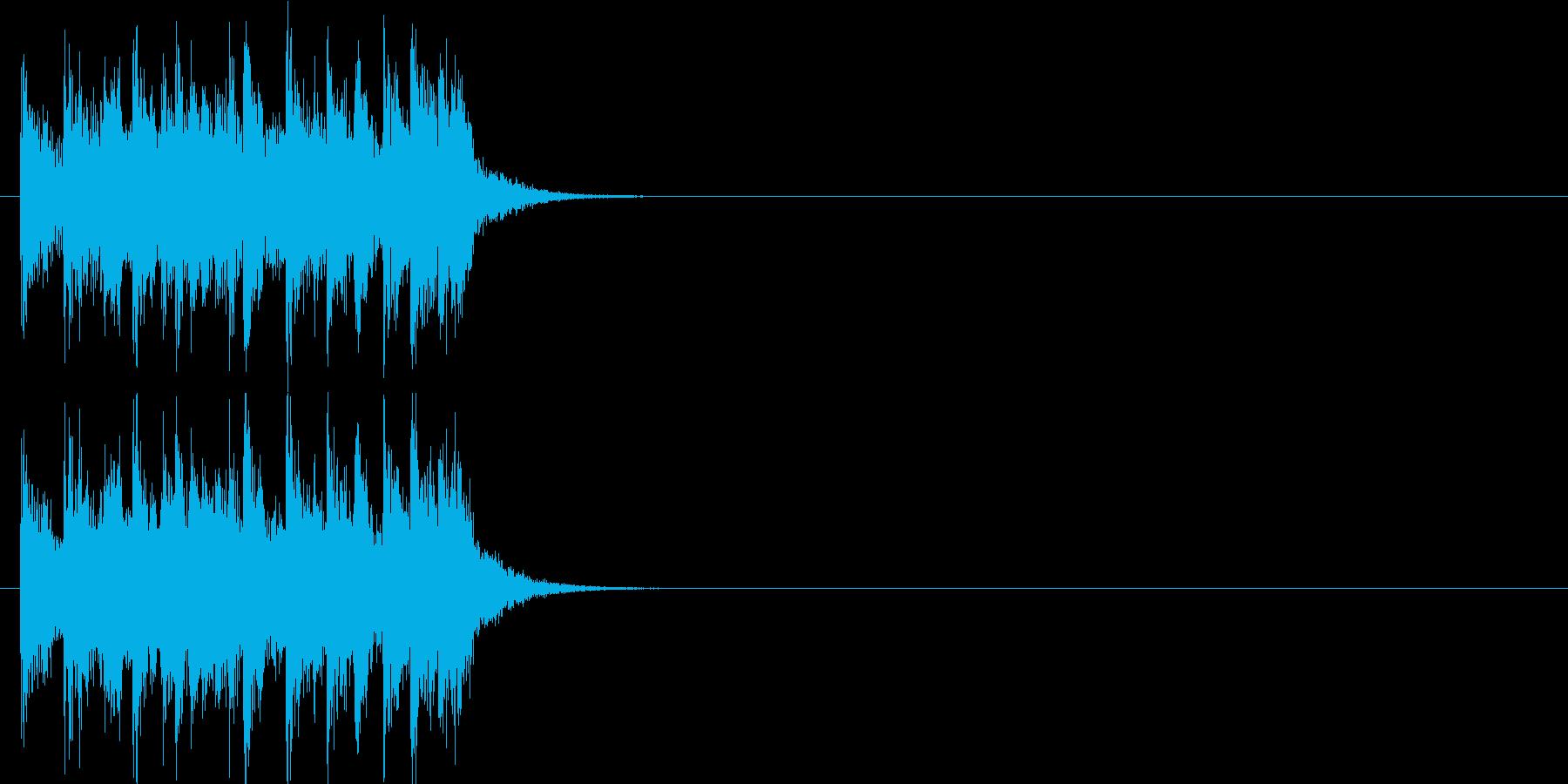 テーマ クイズ 場面転換 緊張 躍動の再生済みの波形