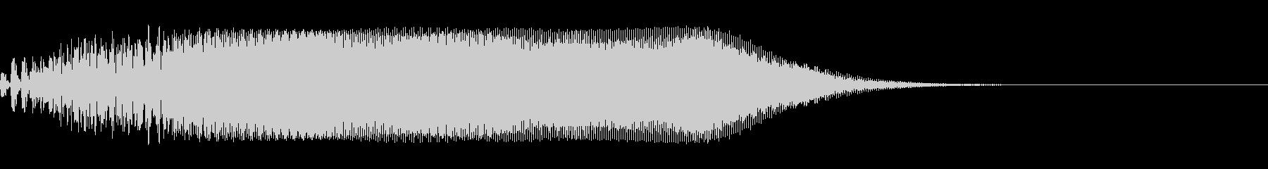 ホラー系SE(ヴァヴォーン)の未再生の波形