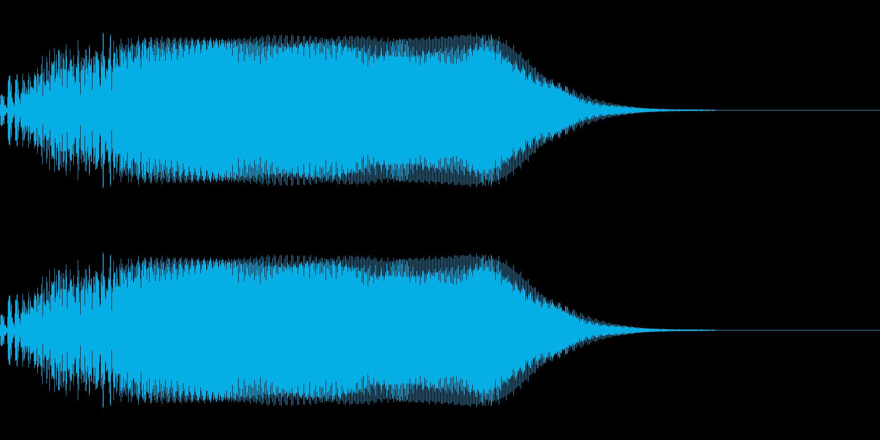 ホラー系SE(ヴァヴォーン)の再生済みの波形