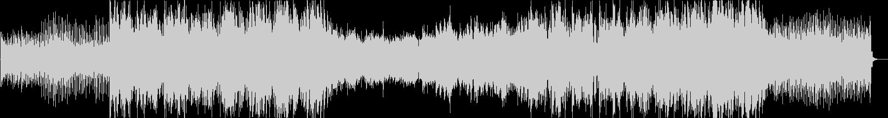 アンビエント系エレクトロニカの未再生の波形