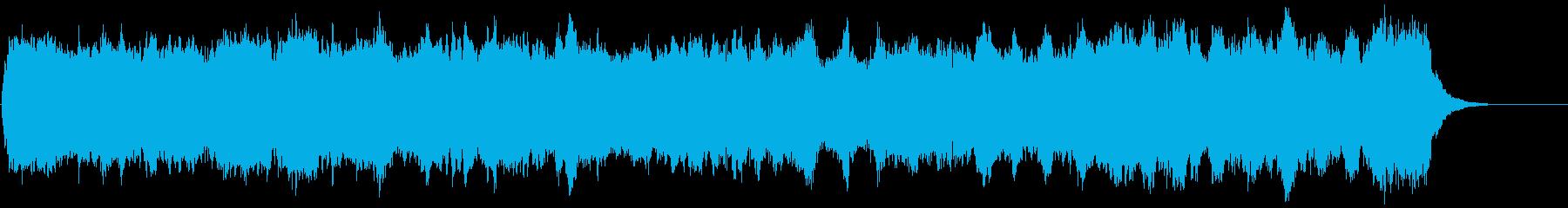 切ない旅立ちを思わせるパイプオルガン曲の再生済みの波形