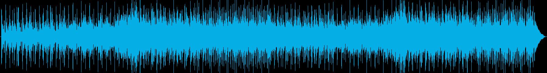 透明感のあるミステリアスなBGMの再生済みの波形