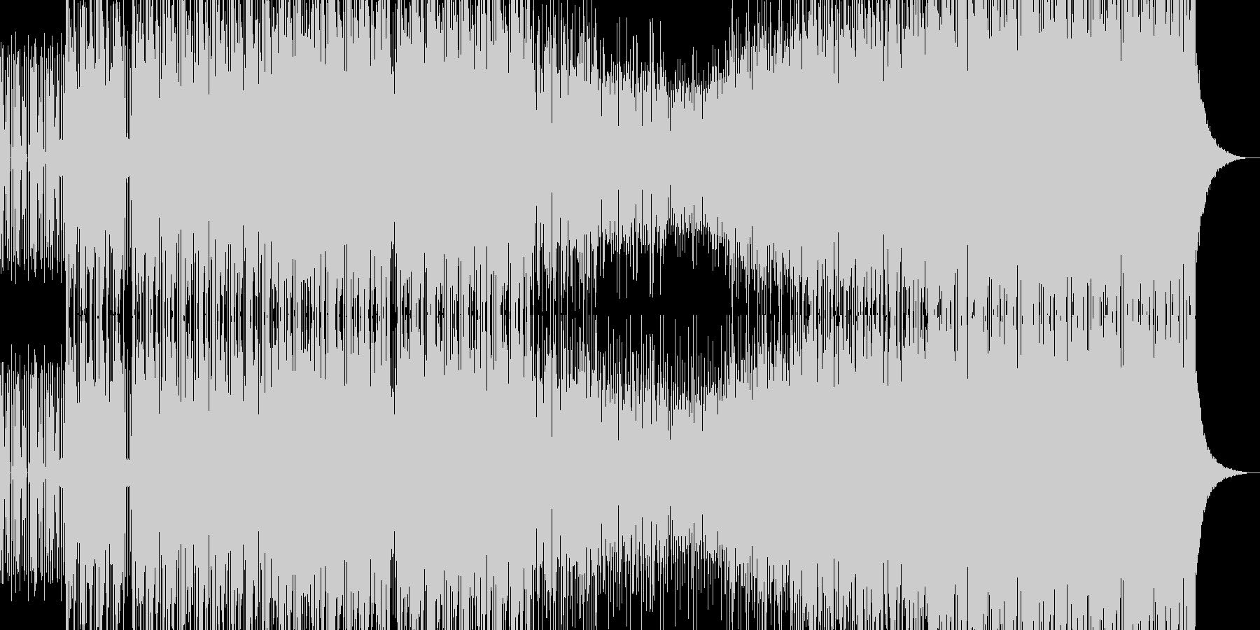ブレイクビーツBGM3の未再生の波形