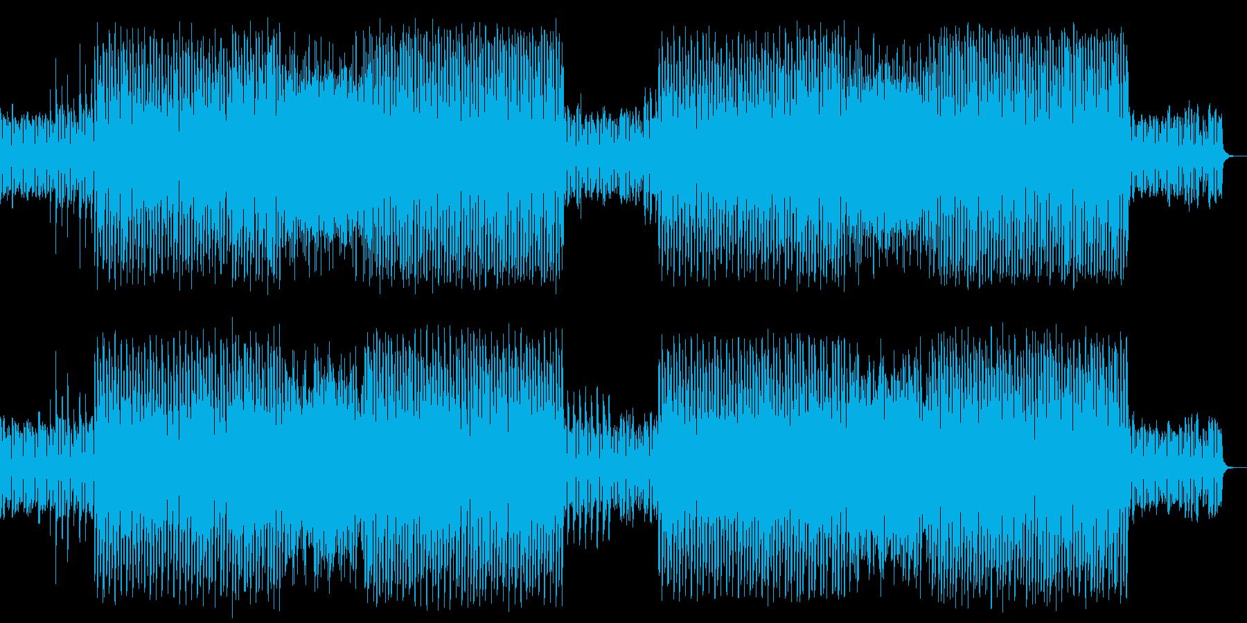 イベントなどで使えそうなインストBGMの再生済みの波形