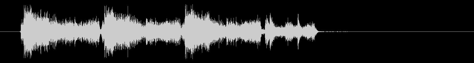 ガシャブミョン(弾みのある機械音)の未再生の波形