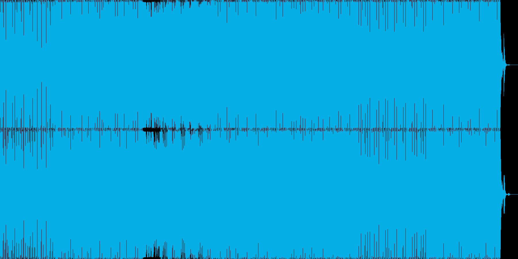 ニュースやCMに最適、企業PV向け楽曲の再生済みの波形