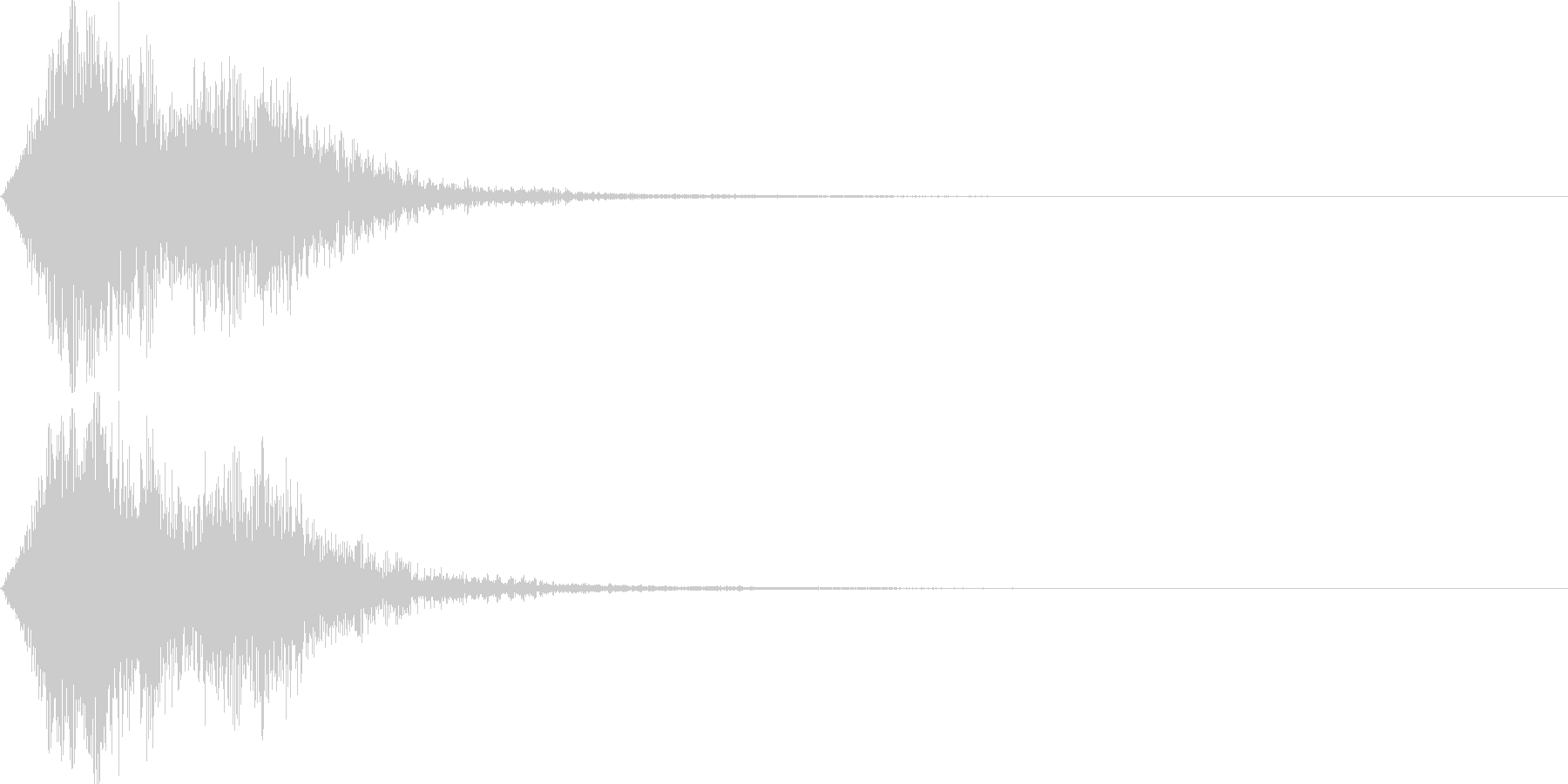 ストリングフレーズ02の未再生の波形