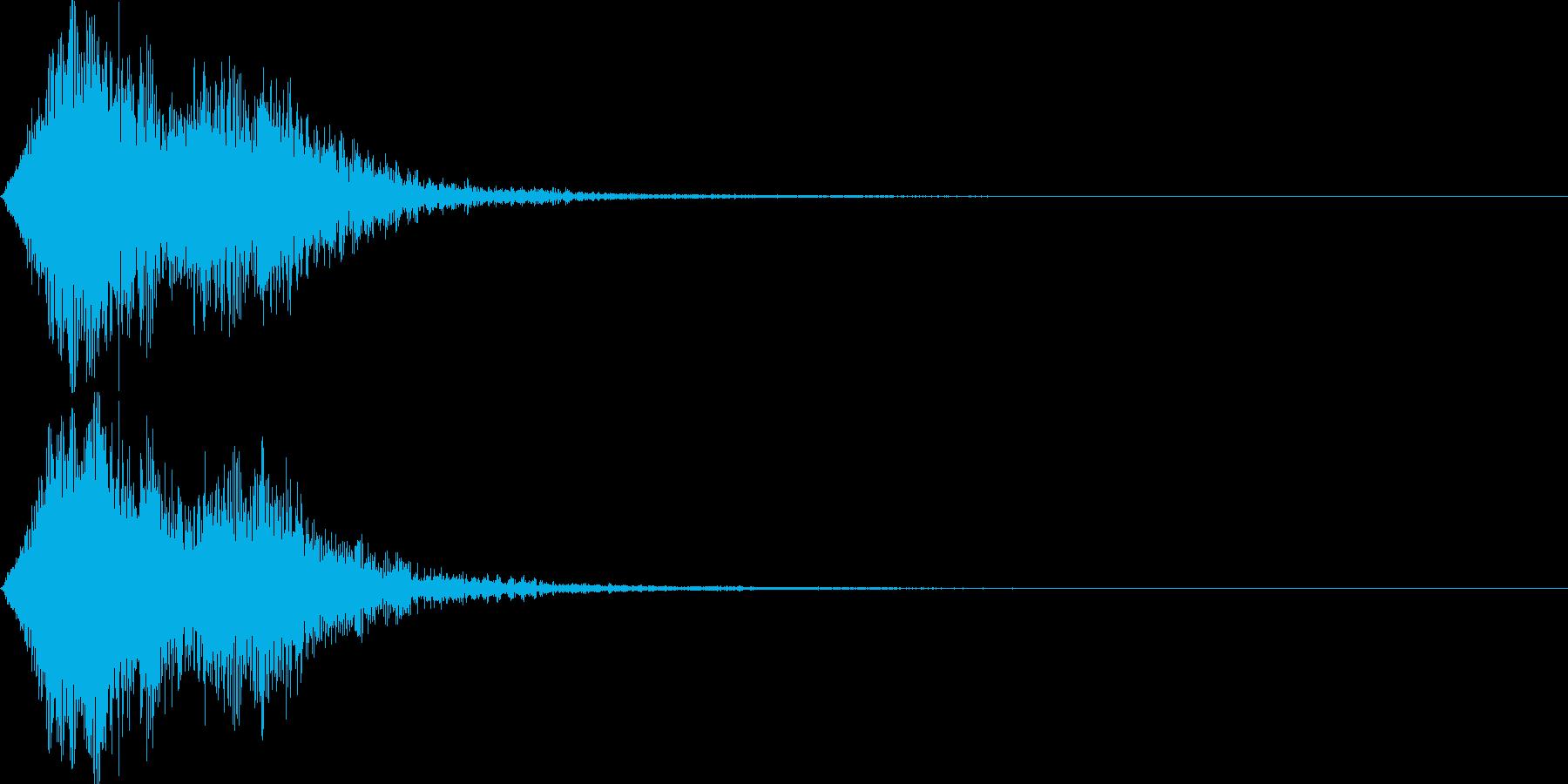 ストリングフレーズ02の再生済みの波形