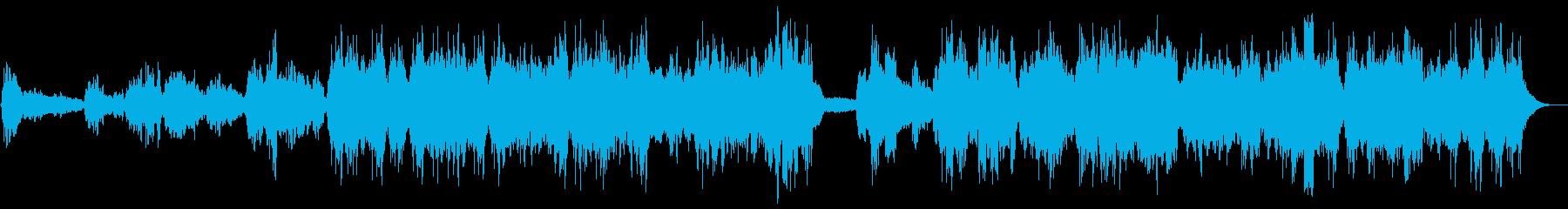 【神秘的な女性コーラス祈り(Full)】の再生済みの波形