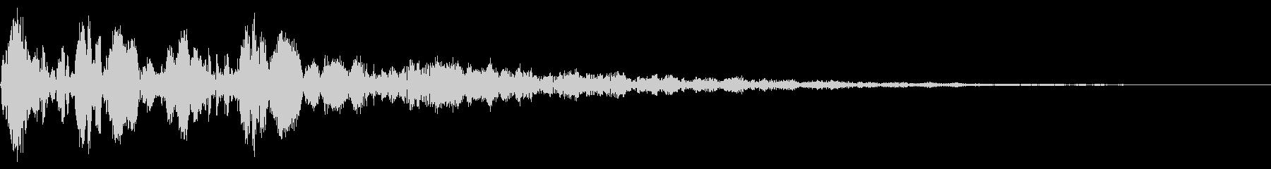 ポユポユーン(ダイアログ開く_01)の未再生の波形