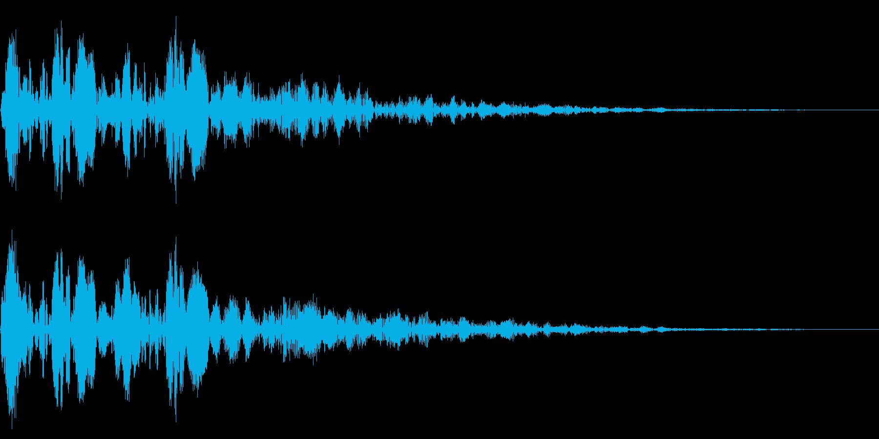 ポユポユーン(ダイアログ開く_01)の再生済みの波形