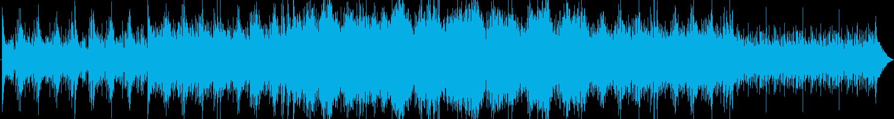 ゲーム、映像向け 闘いのBGMの再生済みの波形