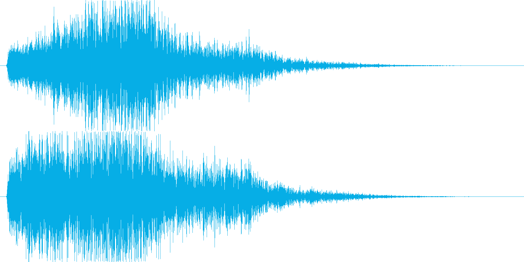 キューオー。の再生済みの波形