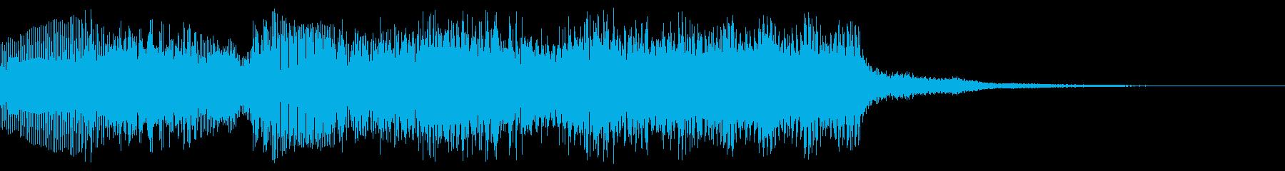 8bit ファミコン風 クリア、場面転換の再生済みの波形