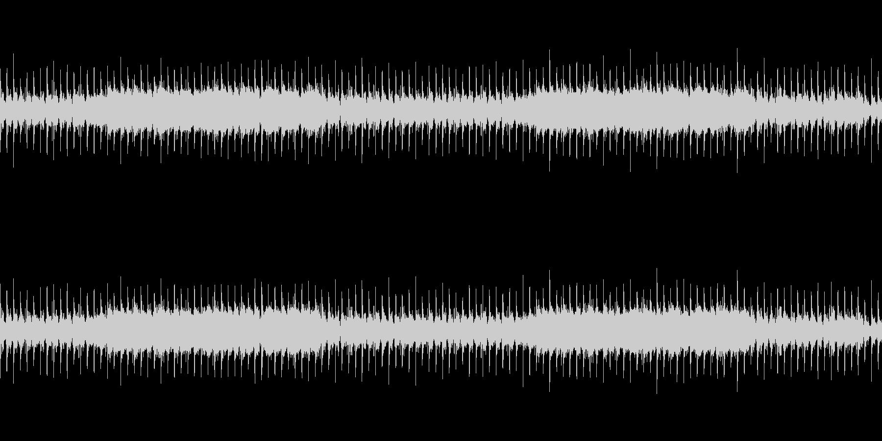 力強く緊張感のあるロックサウンドの未再生の波形