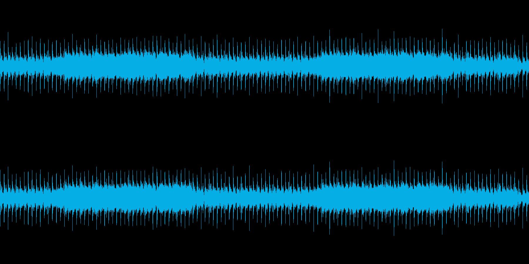 力強く緊張感のあるロックサウンドの再生済みの波形