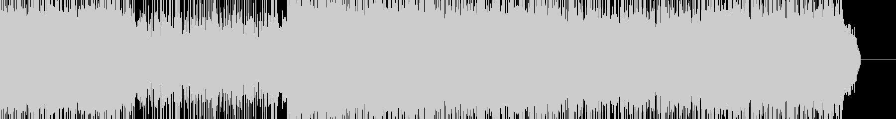 戦闘シーン用デジタルロックの未再生の波形