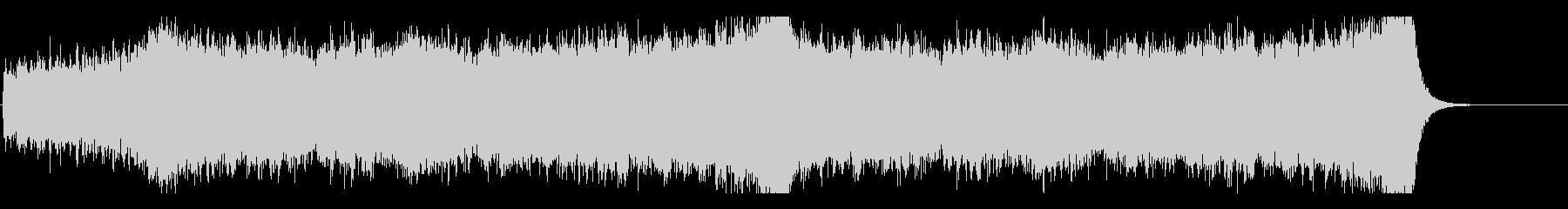 駆け抜ける壮大なストリングス-編集Bの未再生の波形