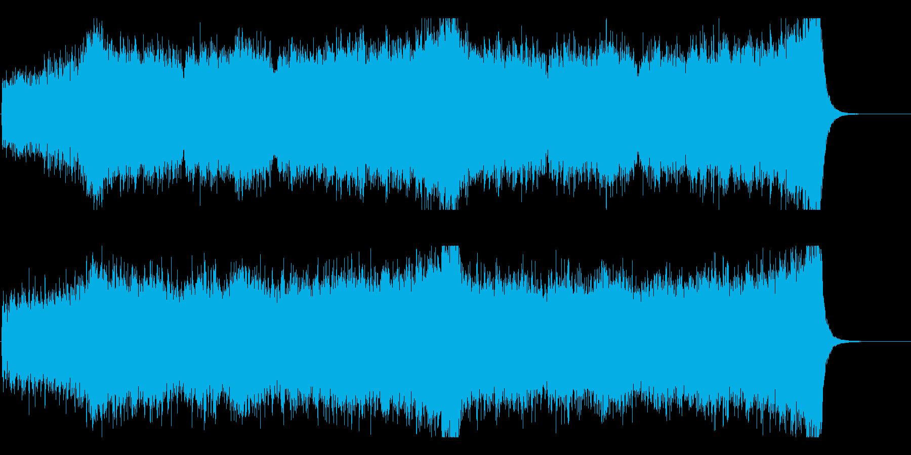 駆け抜ける壮大なストリングス-編集Bの再生済みの波形