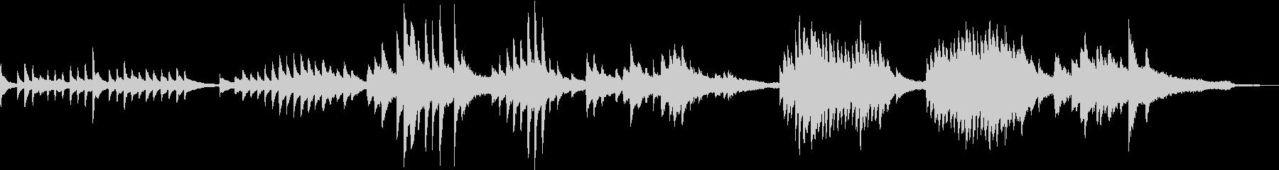 凛とした和風ミュージックの未再生の波形