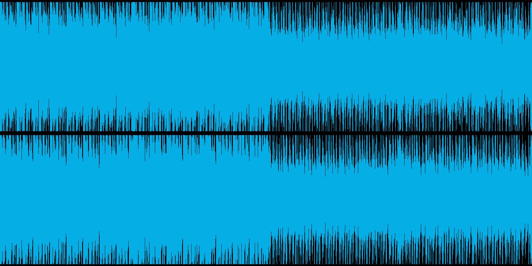 攻撃的なシネマティックオーケストラ曲の再生済みの波形