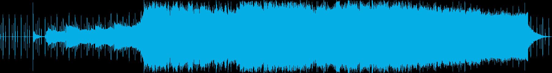 エレクトロニカ おしゃれで現代的の再生済みの波形