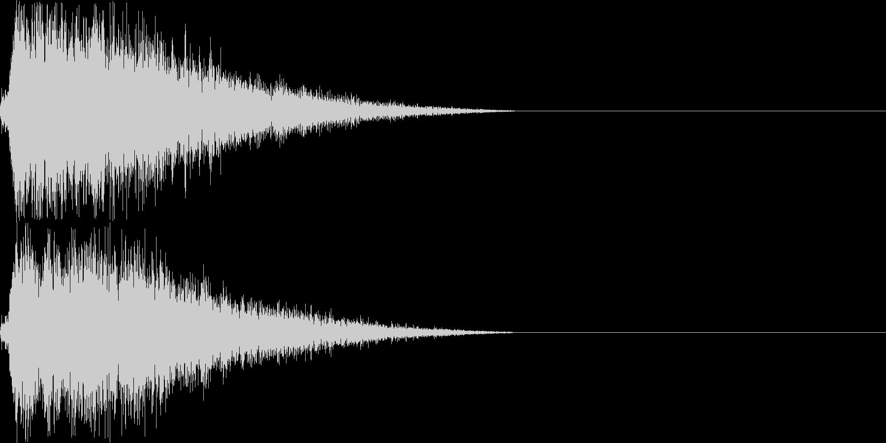 ハンドシンバル/オーケストラ/パーンの未再生の波形