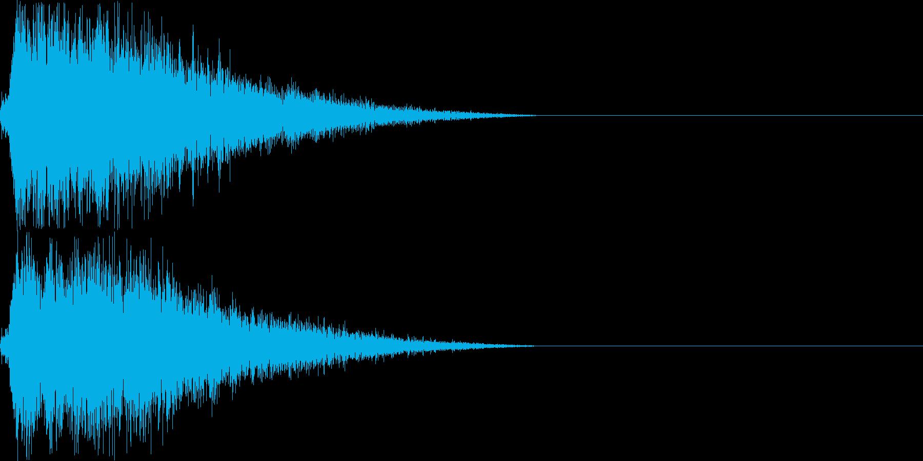 ハンドシンバル/オーケストラ/パーンの再生済みの波形