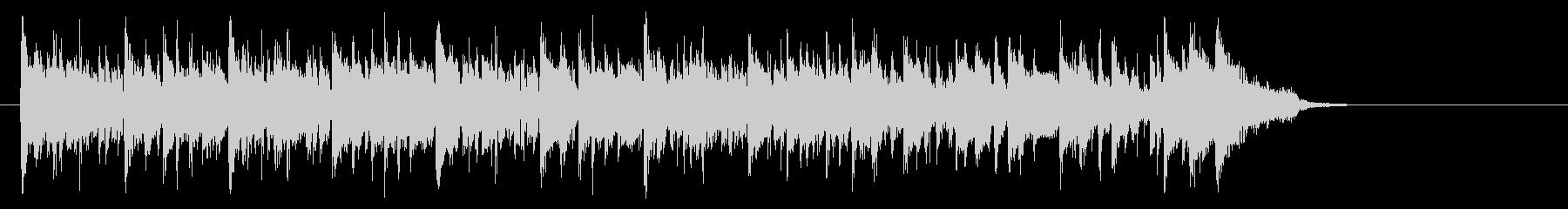 メロウなフュージョン(サビ~イントロ)の未再生の波形