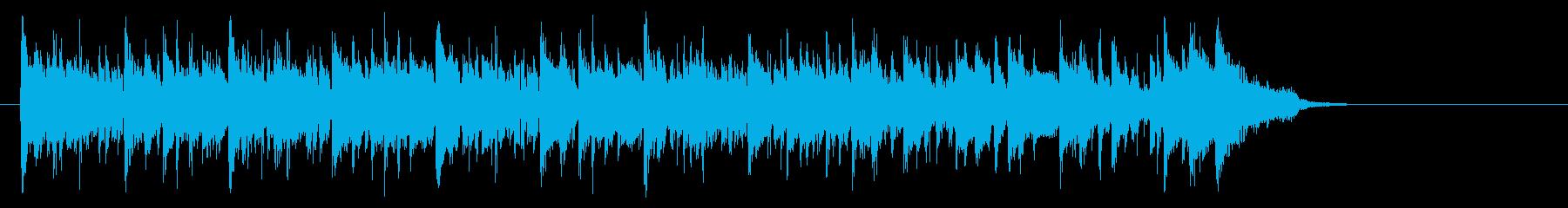 メロウなフュージョン(サビ~イントロ)の再生済みの波形