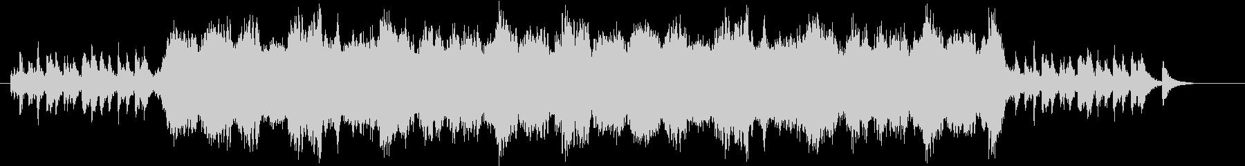 弦楽四重奏による間奏曲の未再生の波形