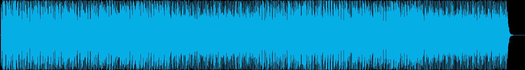 テーマパーク感あるシンセリード曲の再生済みの波形