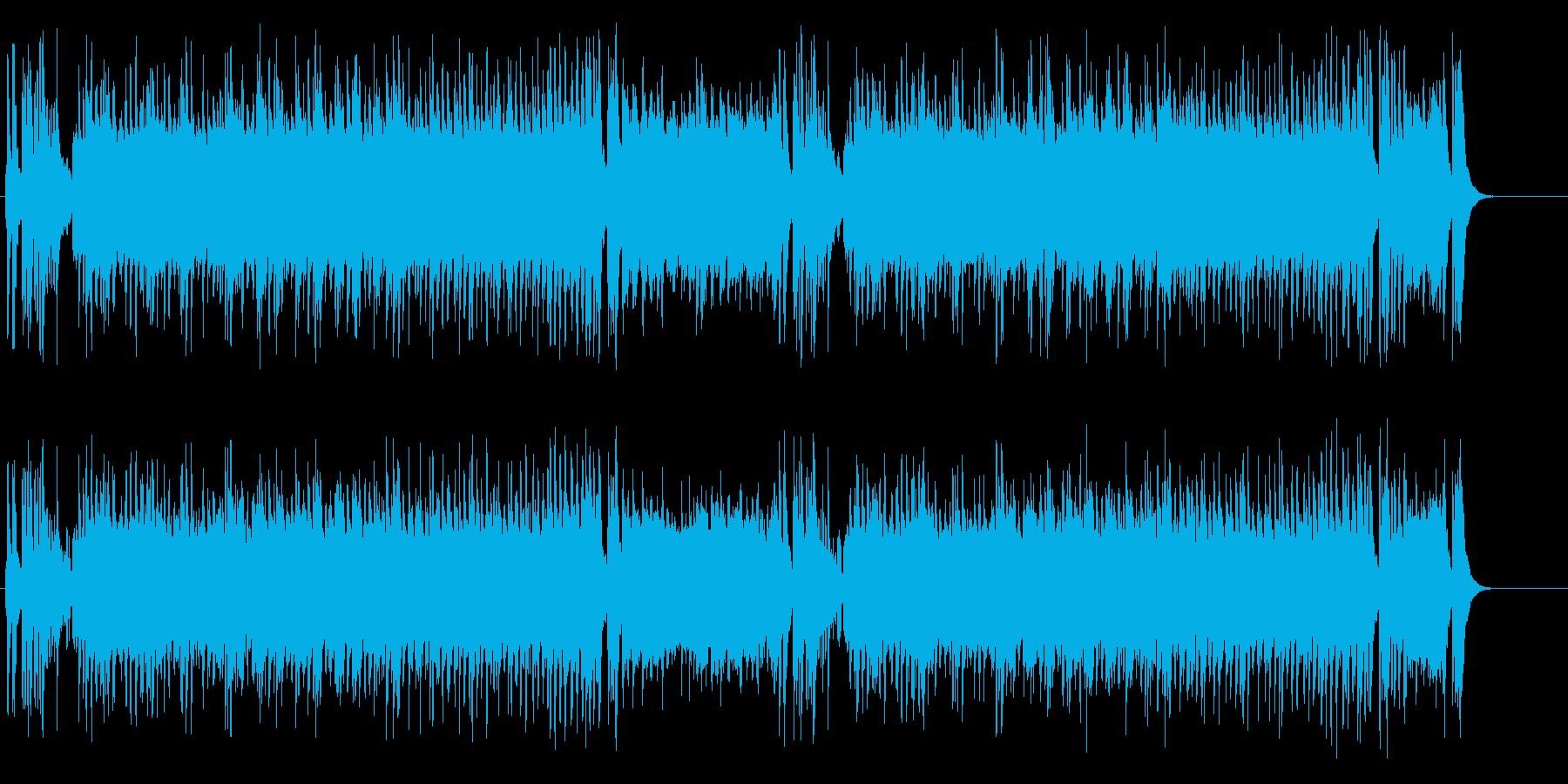 盛りあがり、てんこもりサウンドの再生済みの波形