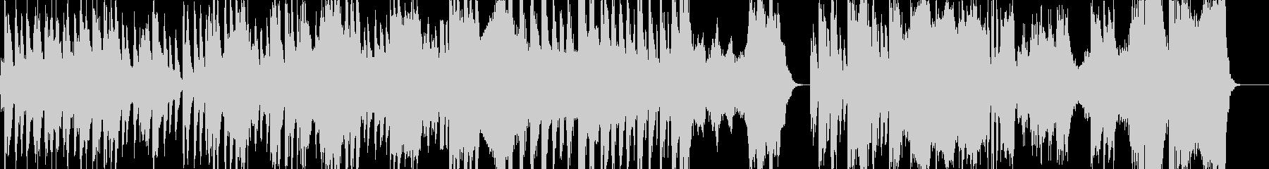 オーケストラ 徐々に近づく時間の未再生の波形