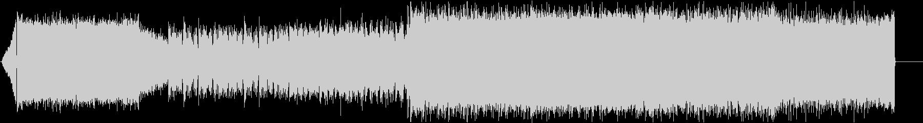 ソロが印象的な緊張感漂うロック ver2の未再生の波形