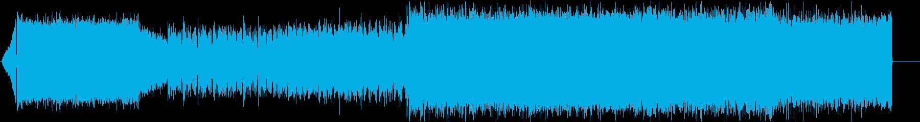 ソロが印象的な緊張感漂うロック ver2の再生済みの波形