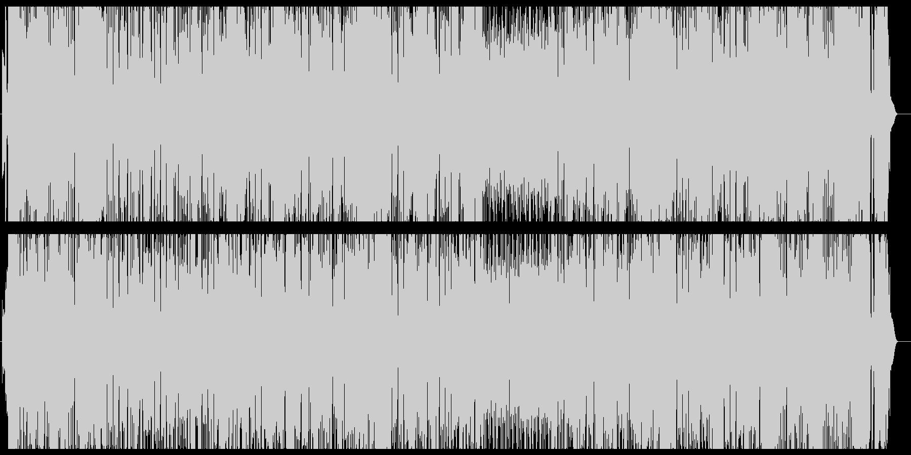三味線を使ったダンスミュージックの未再生の波形