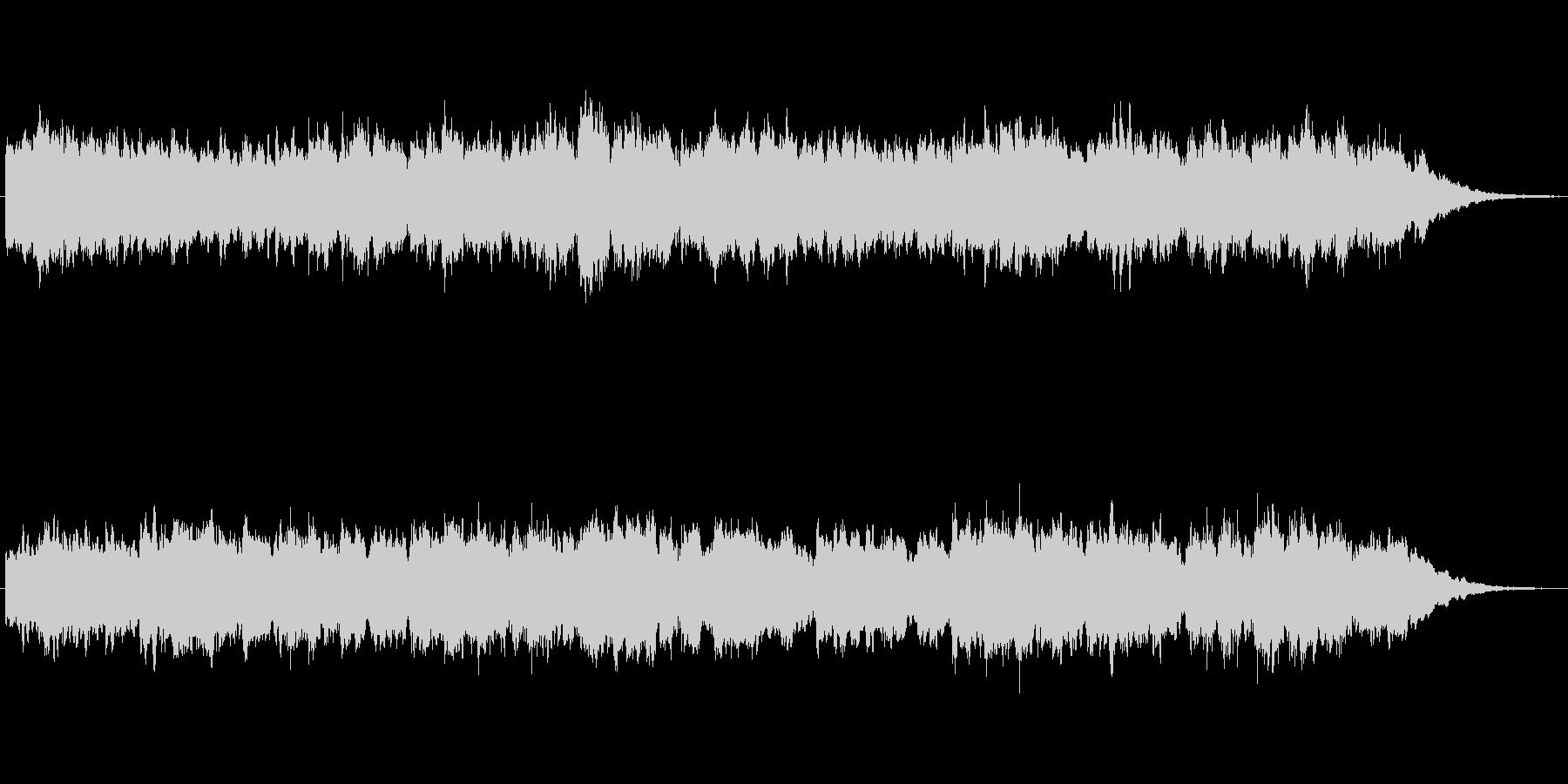キラキラシンセのメルヘン世界のジングルの未再生の波形