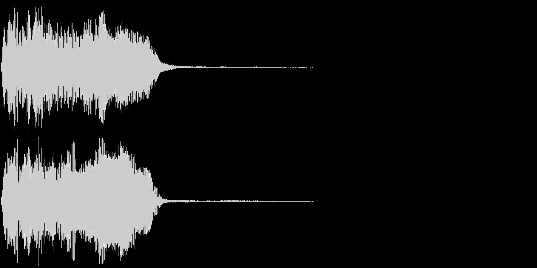トランペット ファンファーレ 定番 22の未再生の波形
