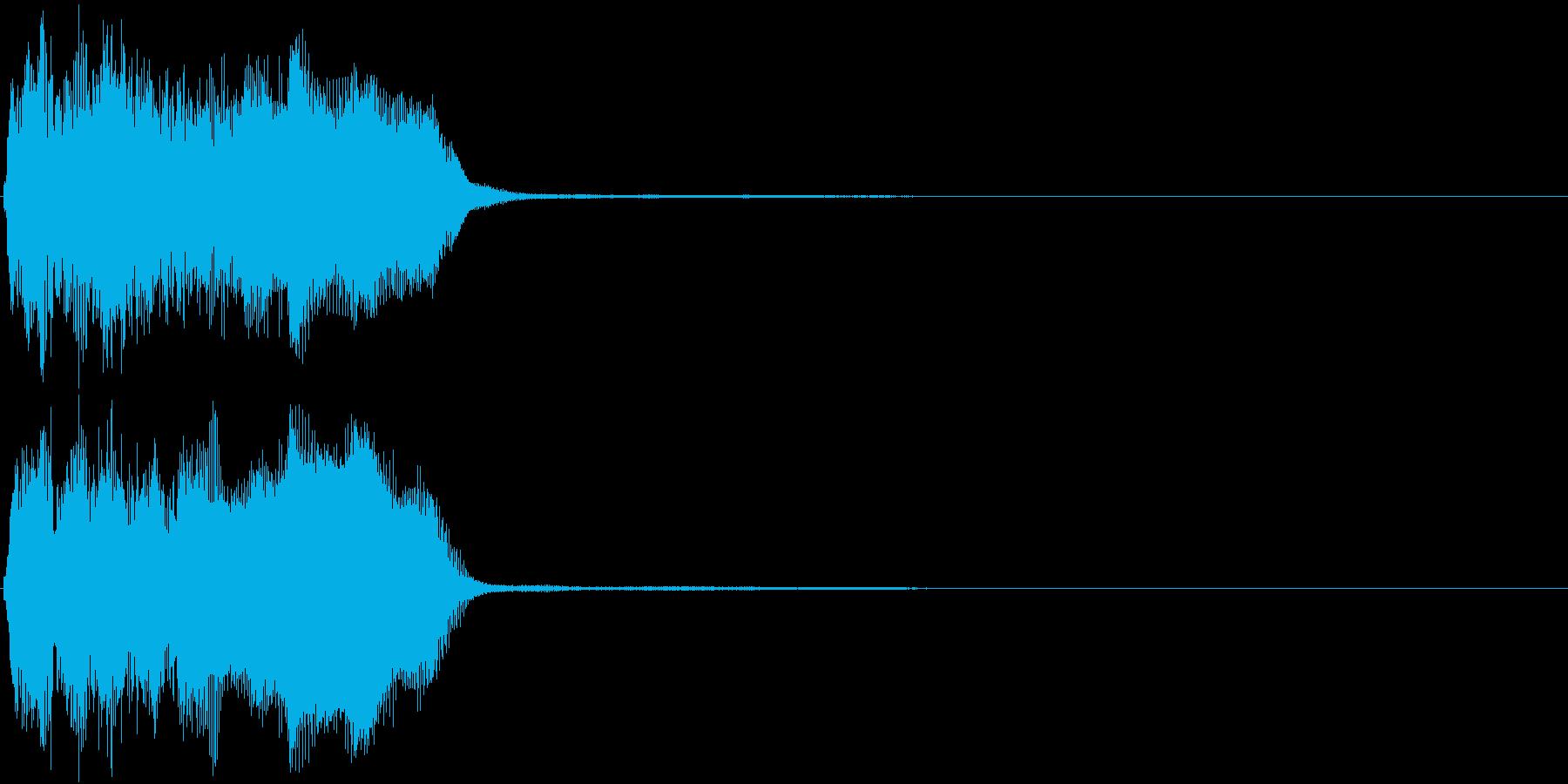トランペット ファンファーレ 定番 22の再生済みの波形