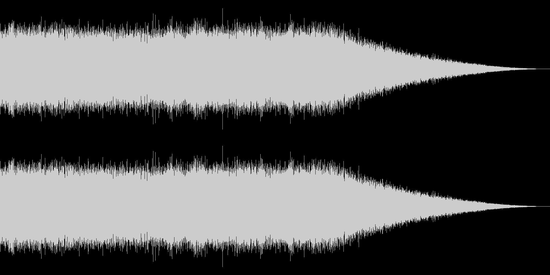 戦車の走行音/キャタピラの効果音 07の未再生の波形