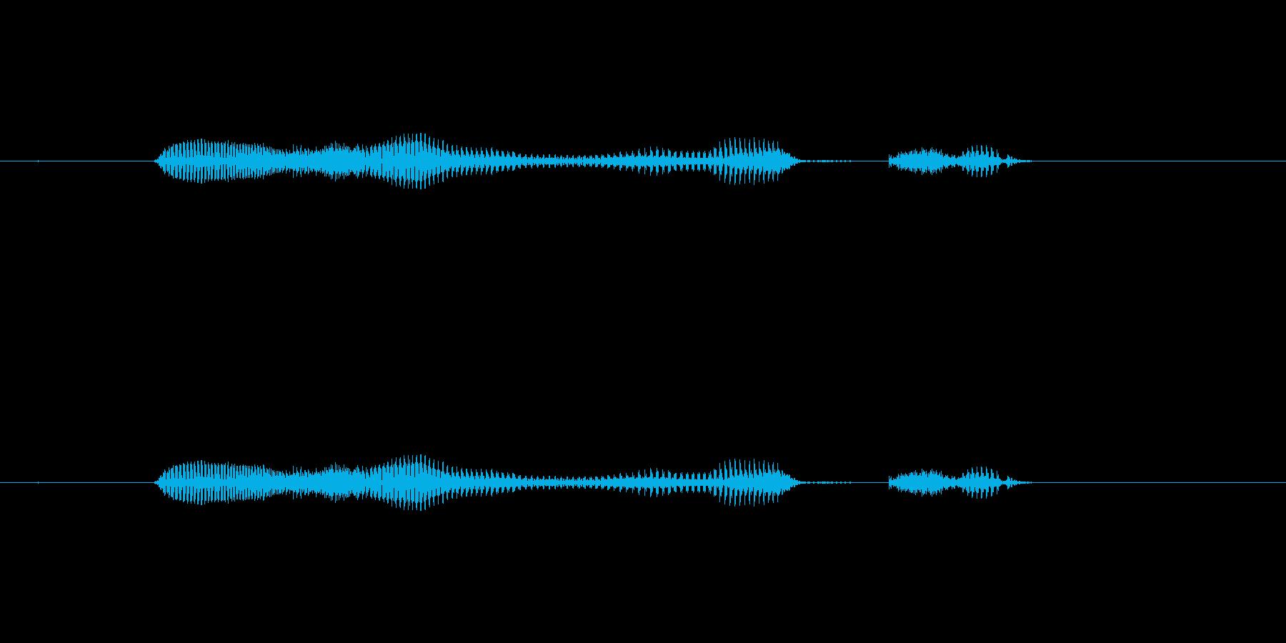 【日】22日の再生済みの波形