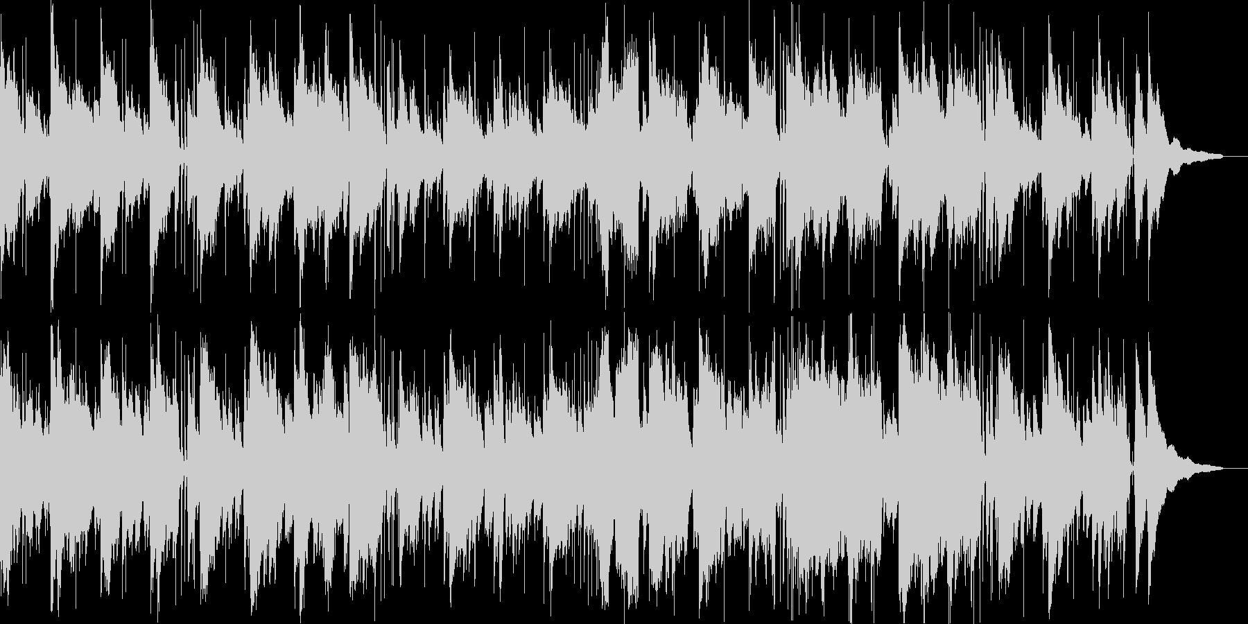 ゆったりとしたボサノバです。の未再生の波形