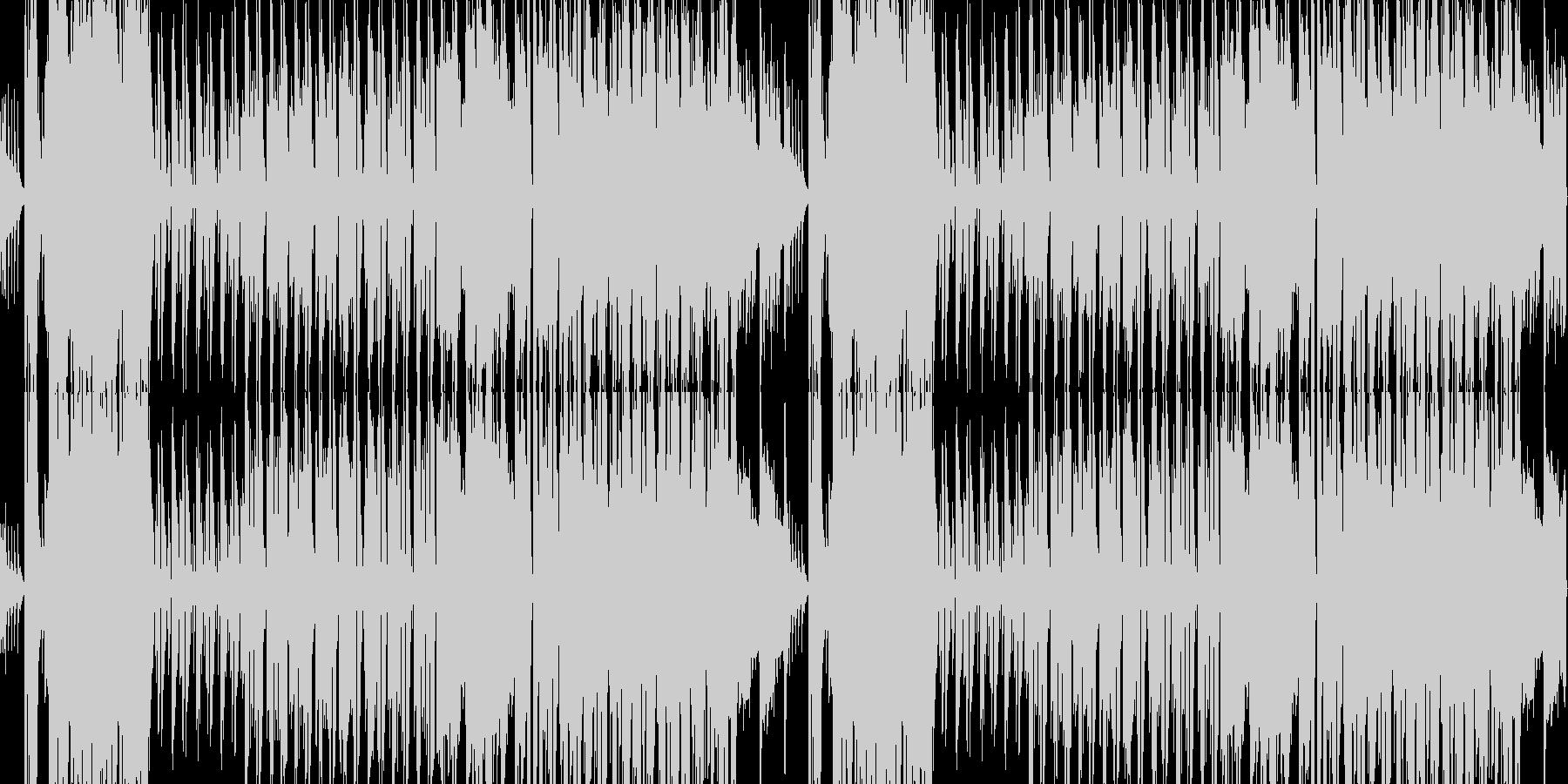 桜春琴和風ループ企業PVオーケストラの未再生の波形