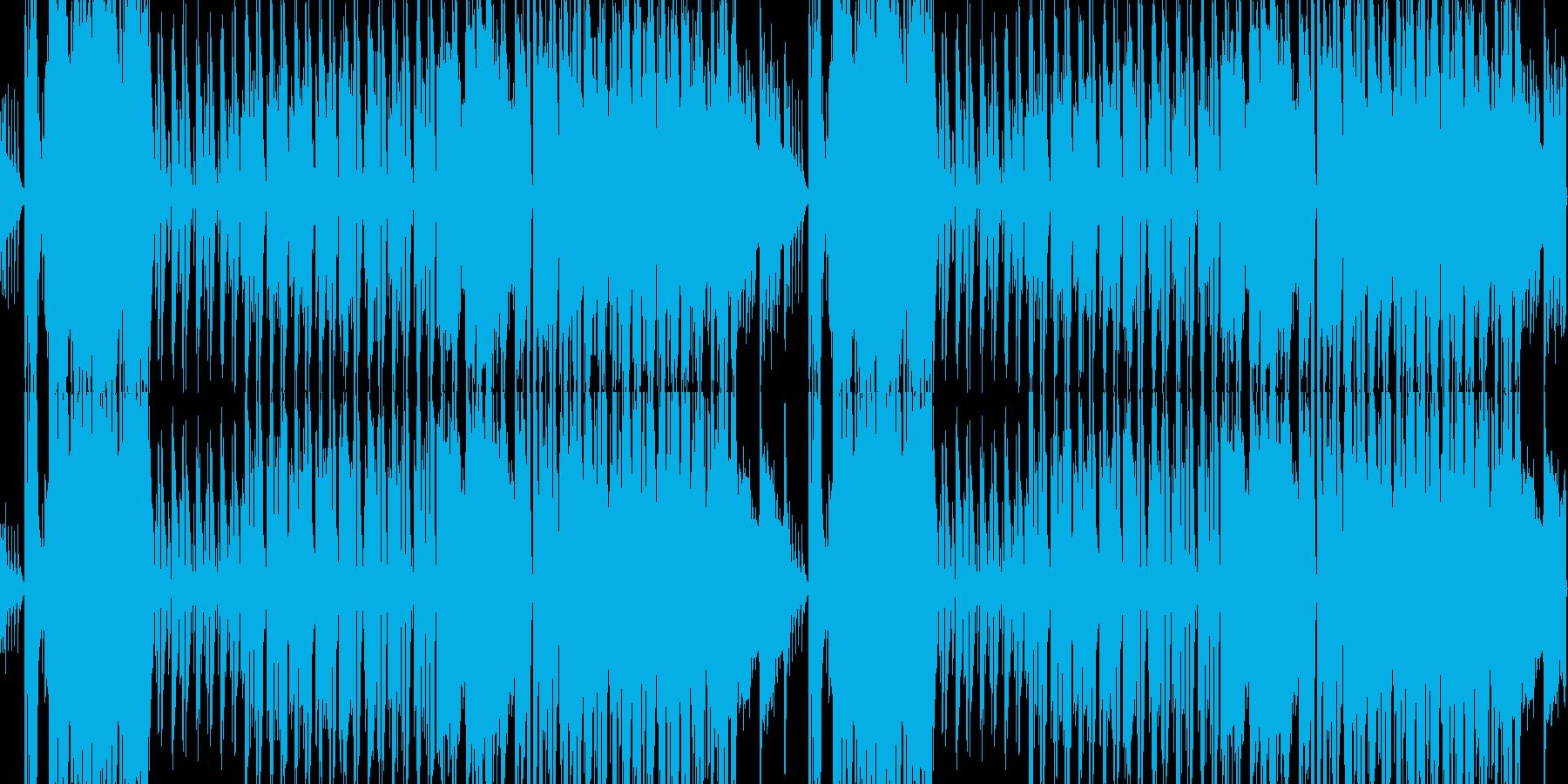 桜春琴和風ループ企業PVオーケストラの再生済みの波形