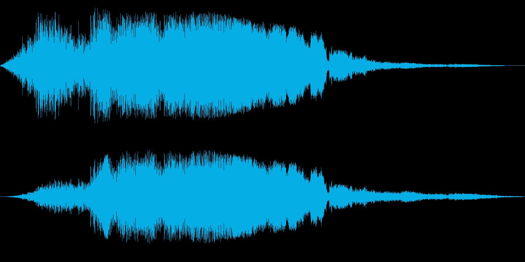 F1などのレース、エンジン音に最適35!の再生済みの波形