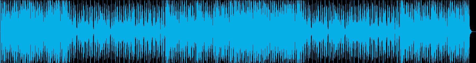 優しく包まれるようなR&B風BGMの再生済みの波形