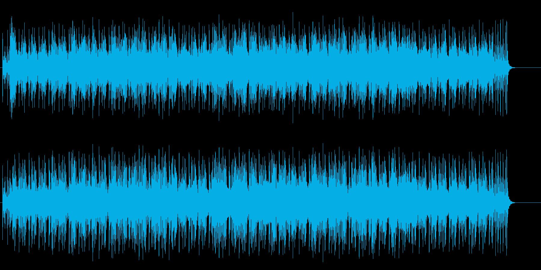 不思議でコミカルなワールド系ポップ/BGの再生済みの波形